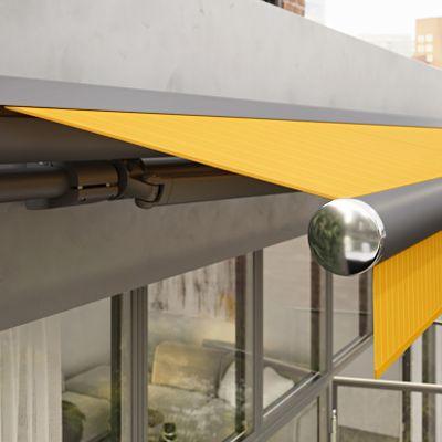 Gelenkarmmarkise für Terrassen, Balkone und Nischen: markilux 1710