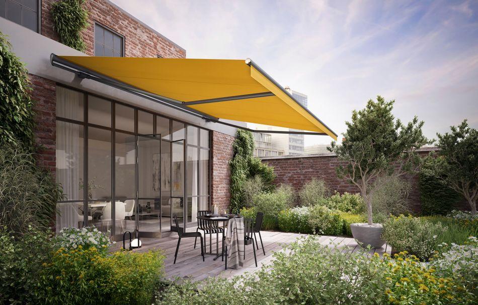 Markise - der zuverlässige Sonnenschutz für die Terrasse -SF