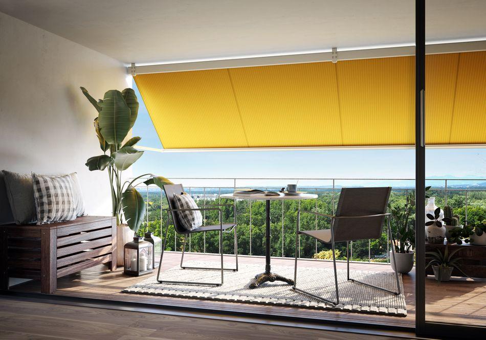Balkon mit Markise -SF