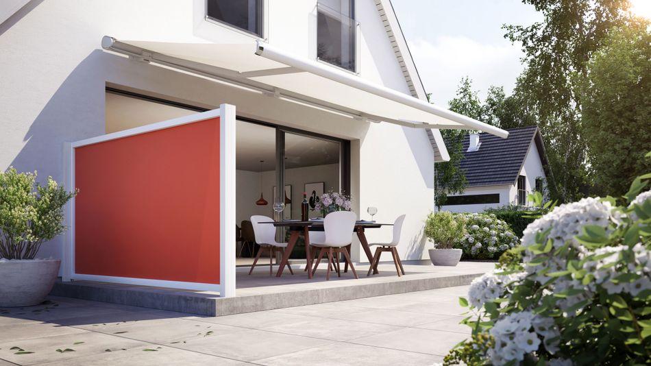 Sichtschutz für die Terrasse: markilux format, format lift und format slide
